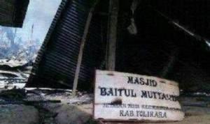 masjid papua