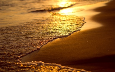beach-wave-sunset