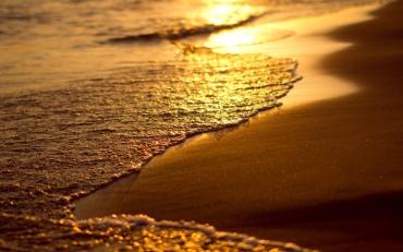 beach-wave-sunset